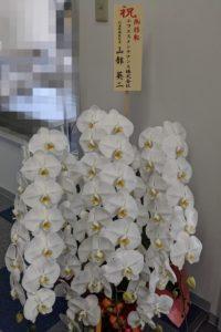 ご移転祝いのお花を届けさせていただきました。(社長のつぶやき145)